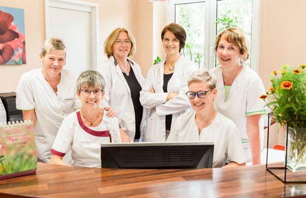 Praxis für Allgemeinmedizin Antje Steikert Praxisteam